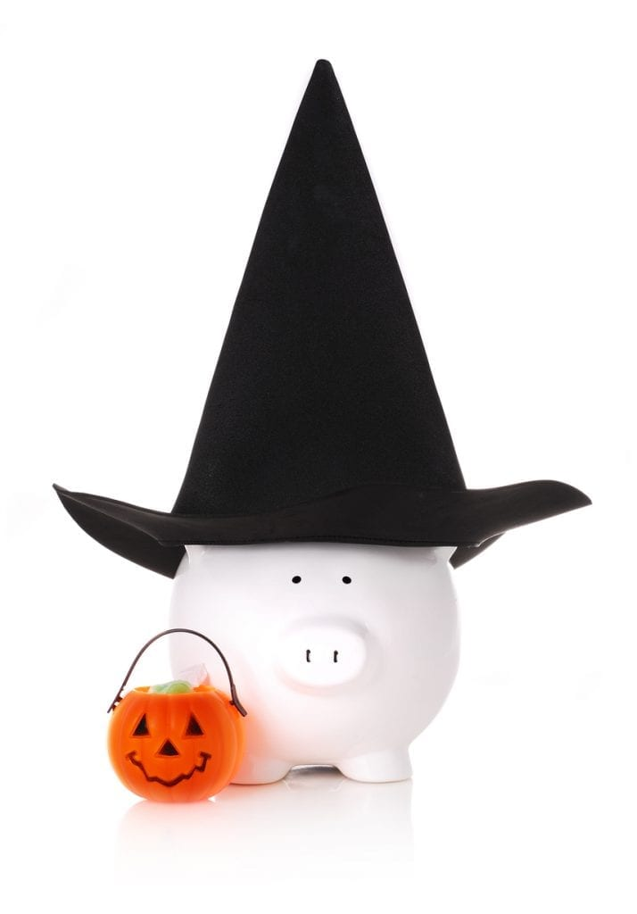 Ways to save money for halloween
